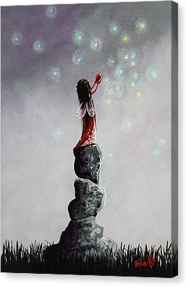 Fairy Art Prints By Erback Canvas Print
