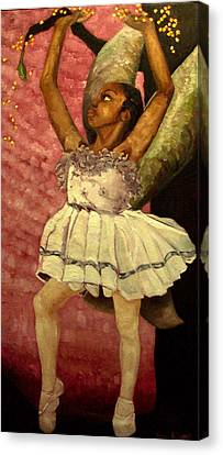 Faries Canvas Print - Fairy Dust by Amira Najah Whitfield