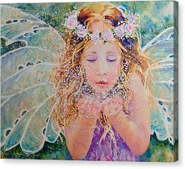 Fairy Dust Canvas Print by Nicole Gelinas