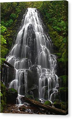 Fairy Falls Canvas Print by Todd Kreuter