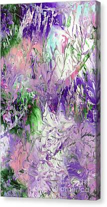 Fairy Flowers Canvas Print by Jo Ann Bossems