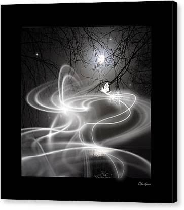 Fairy Fog Canvas Print by Maggie  Smith