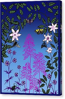 Fairy Garden By Tarra Light Canvas Print by Robert Bissett