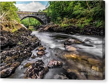 Fairy Glen Bridge Canvas Print