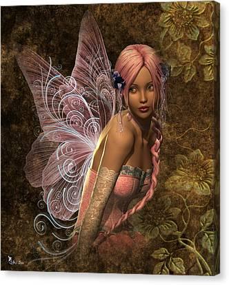 Fairy Lite  Canvas Print by Ali Oppy