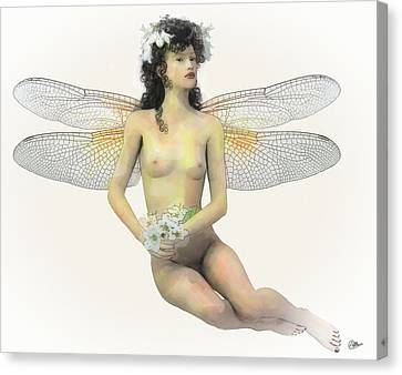 Fairy Luck Canvas Print by Quim Abella