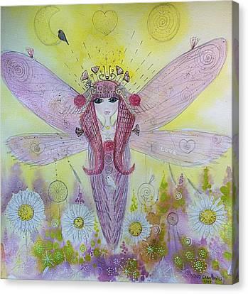 Fairy Messenger  Canvas Print