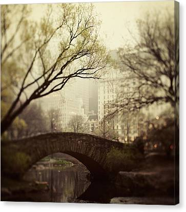 Fairy Of New York Canvas Print by Irene Suchocki