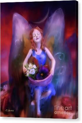 Fairy Of The Garden Canvas Print
