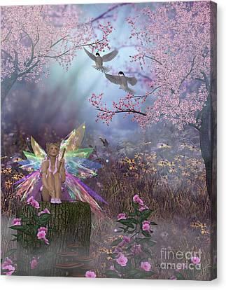 Fairy Patricia Canvas Print