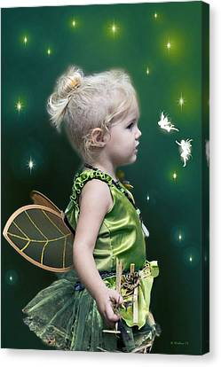 Fairy Princess Canvas Print by Brian Wallace