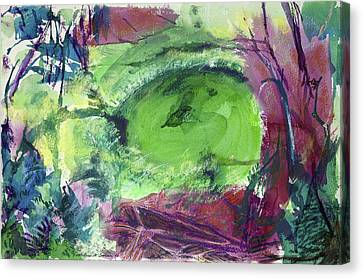 Fairy Ring, Lasso Forest Canvas Print