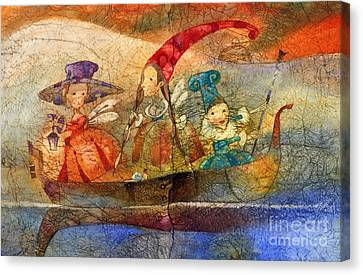 Fairy Canvas Print by Svetlana and Sabir Gadzhievs