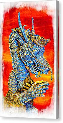 Thailand Canvas Print - Fairy Tail Dragon by Ian Gledhill
