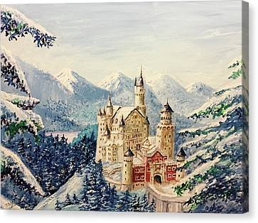 Fairy Tale Castle, Black Forest, Germany Canvas Print