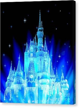 Fairy Tale Castle Canvas Print by Johari Smith