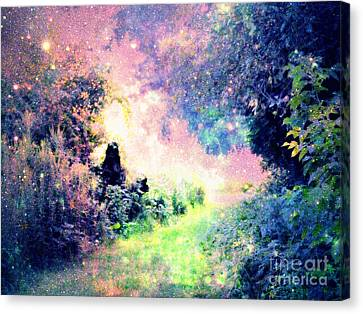 Fairy Tale Path Canvas Print by Johari Smith