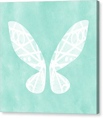 Backdrop Canvas Print - Fairy Wings- Art By Linda Woods by Linda Woods