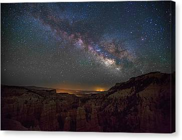 Fairyland Canyon Canvas Print by Starry Night