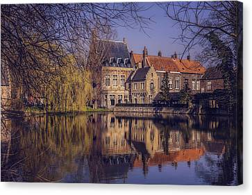 Fairytale Bruges  Canvas Print by Carol Japp