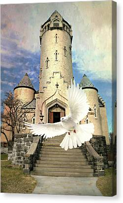 Faith Angel Canvas Print by Diana Angstadt