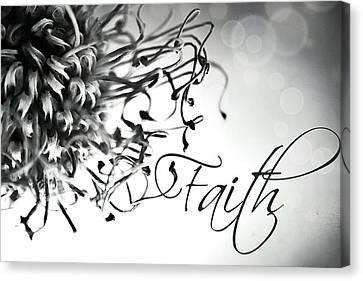 Canvas Print featuring the photograph Faith by Bobby Villapando