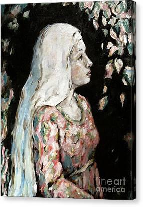 Faith Canvas Print by Carrie Joy Byrnes