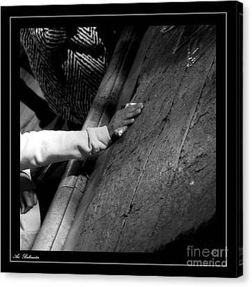 Faith Hands 2. Canvas Print by Arik Baltinester