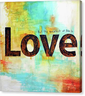 Faith Hope Love Canvas Print