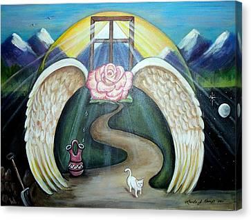 Faith Journey Canvas Print by Linda Nielsen
