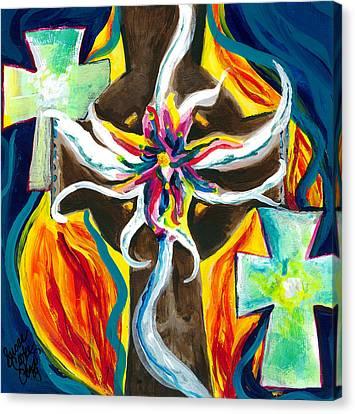 Faith Canvas Print by Susan Cooke Pena
