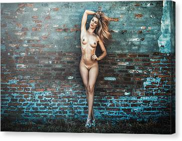 Canvas Print featuring the photograph Faith by Traven Milovich