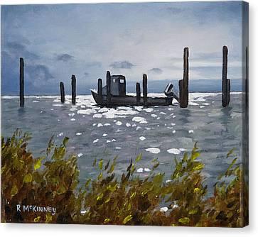 Faithful Waiting Canvas Print by Rick McKinney