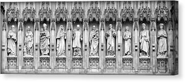 Canvas Print featuring the photograph Faithful Witnesses - 2 by Stephen Stookey