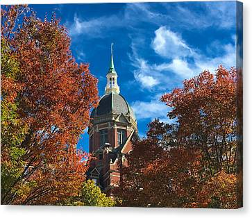 Fall And The Dome Canvas Print
