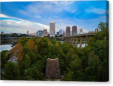 Fall Approaching In Richmond Canvas Print