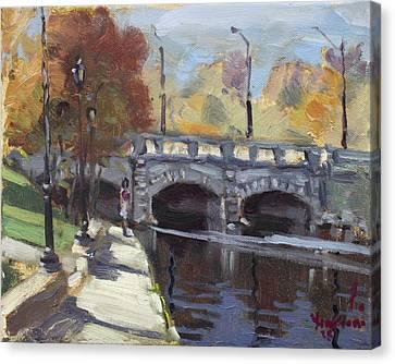Fall At Delaware Park Buffalo Canvas Print