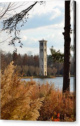 Fall At Furman Canvas Print by Corinne Rhode