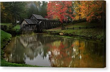 Fall At Mabry Mill Canvas Print