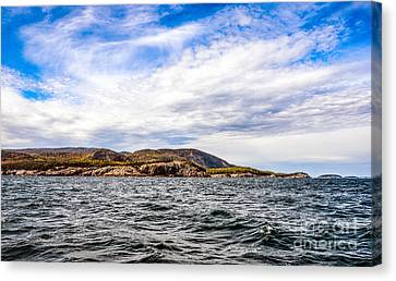 Canvas Print featuring the photograph Fall At Somes Sound by Anthony Baatz