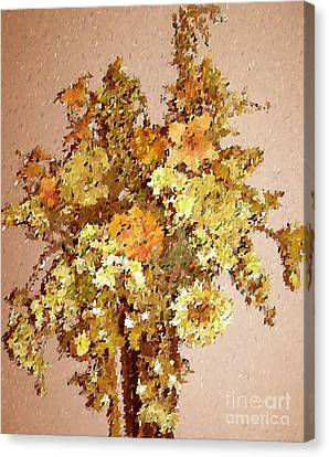Fall Bouquet Canvas Print by Don Phillips