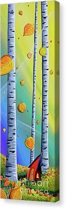 Fall Canvas Print by Cindy Thornton