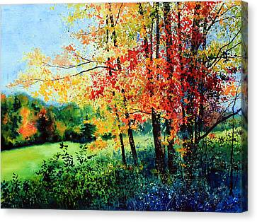 New England Autumn Canvas Print - Fall Color by Hanne Lore Koehler