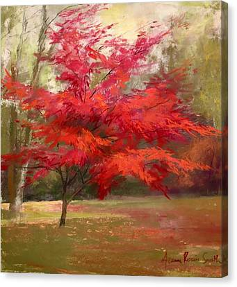 Fall Color Canvas Print by Jeanne Rosier Smith