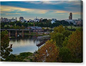 Fall Evening In Richmond Canvas Print