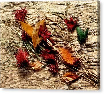 Fall Foliage Still Life Canvas Print