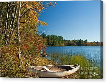 Canvas Print featuring the photograph Fall Fun by Alana Ranney