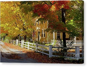 Fall, Hancock Nh Canvas Print