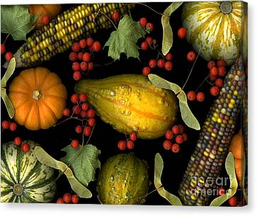 Fall Harvest Canvas Print by Christian Slanec