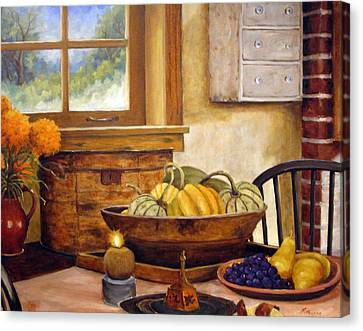 Fall Harvest Canvas Print by Richard T Pranke